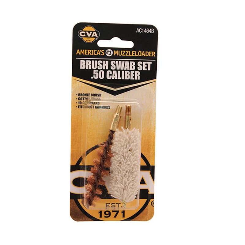 CVA Brush/Swab set 50 cal