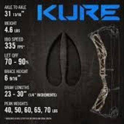 Elite Kure blk rh 60 lb