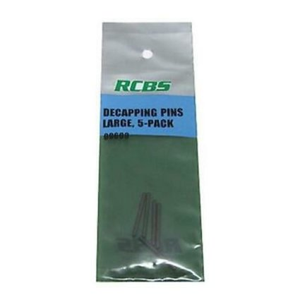 RCBS Decapping pin Lge 5 pk