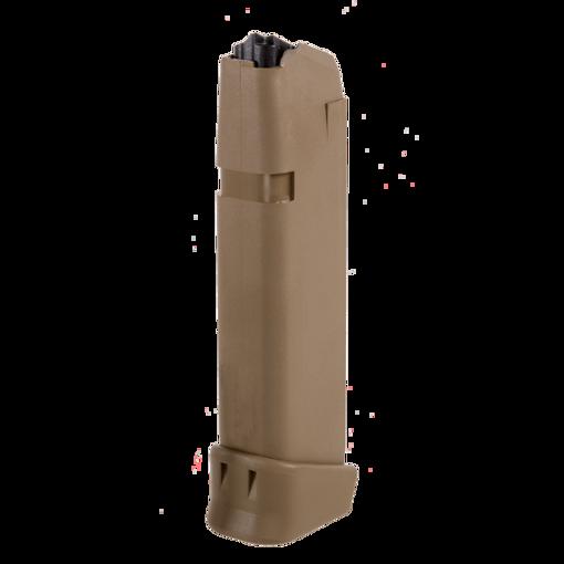 Glock G19X mag Coyote Brown