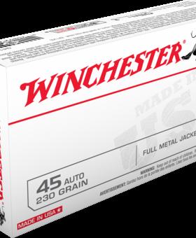 Winchester 45 ACP 230 GR FMJ 50 CT. Q4170