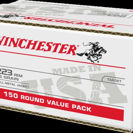 Winchester 223 rem 55gr fmj 150 ct.