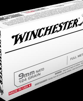 Winchester 9mm luger 124 gr fmj