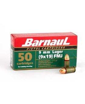 Barnaul 9mm 115gr fmj BARNUAL 1000CT