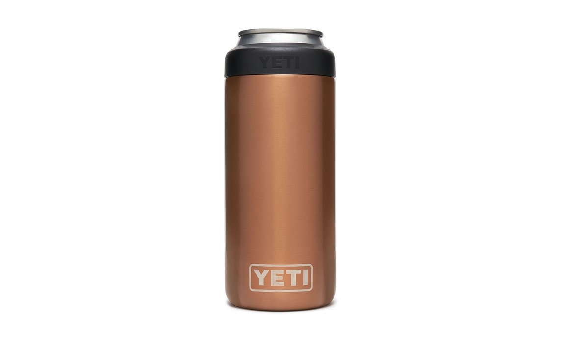 Yeti Colster Slim Can Copper