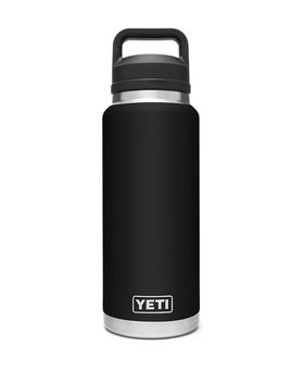 Yeti 36oz rambler bottle chug cap black