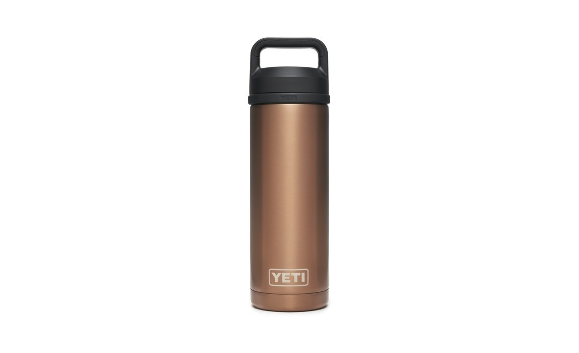 Yeti 18 oz Bottle chug it Copper
