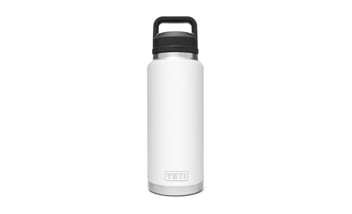 Yeti 36oz Rambler Bottle Chug Cap White