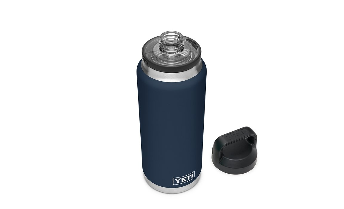 Yeti 36oz Rambler Bottle Chug Cap Navy