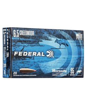 Federal 6.5 creedmore  95 gr VMAX