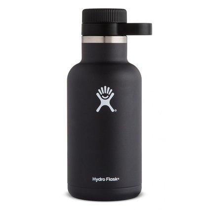 HydroFlask 64oz Beer Growler Black