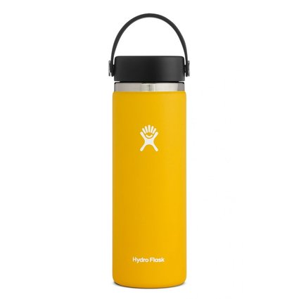 HydroFlask 20oz Wide Mouth 2.0 Flex Cap Sunflower