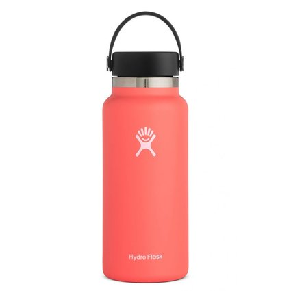 HydroFlask 32oz Wide Mouth 2.0 Flex Cap Hibiscus