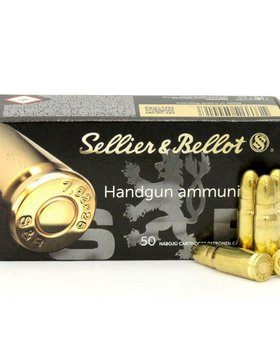 Sellier & Bellot 9mm 115 gr fmj
