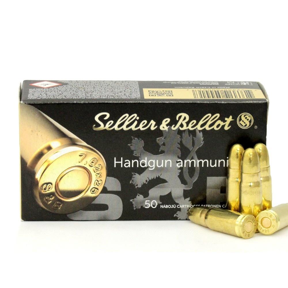 Sellier & Bellot 9mm 115 gr fmj