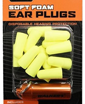 WALKER'S Neon Yellow plugs 7 pair