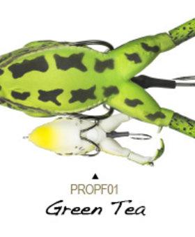 LUNKERHUNT Prop Frog ProPF01 Green Tea