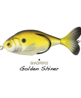 LUNKERHUNT PROPFISH SHADPRF03 GOLDEN SHINER