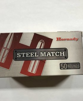 Hornady 223 rem 55gr hp steel match