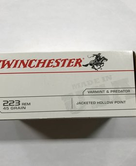 Winchester 223 rem 45 gr jhp 40rd value pack