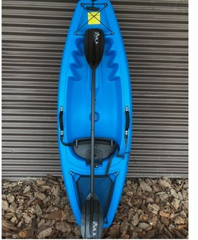 Junior with wheel and paddle - Blue