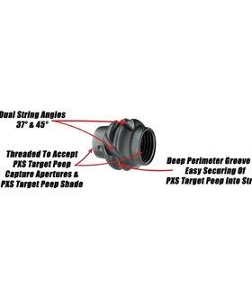 Specialty PXS Target Peep Blk