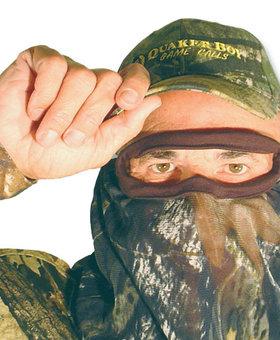 QUAKER BOY Bandit Elite 3/4 Facemask MOBU