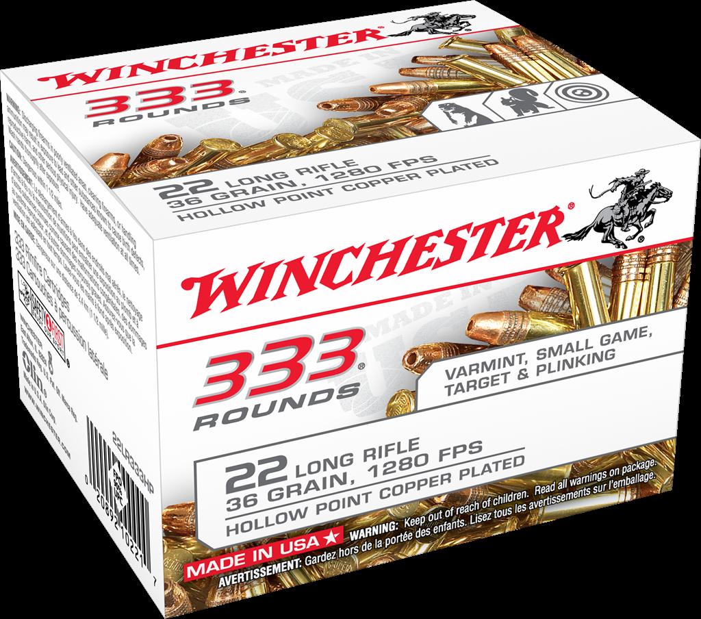 Winchester 22 l.r. 333 winchester