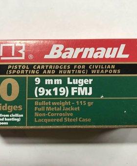 Barnaul 9mm 115 gr barnual