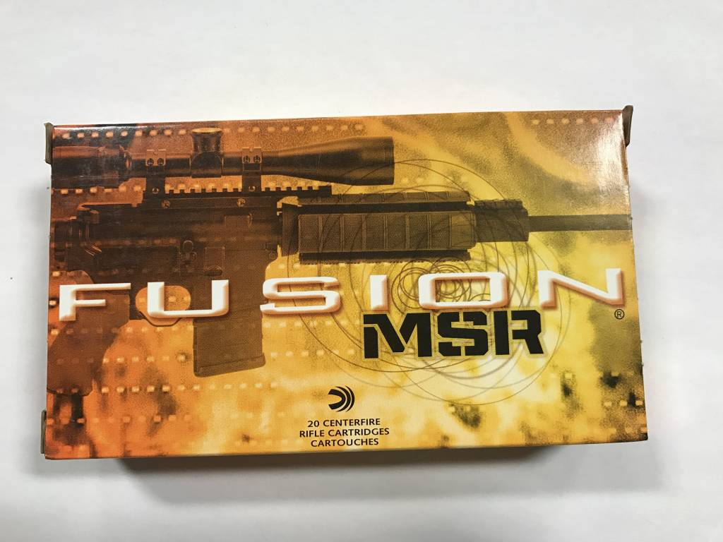 Federal 308 150 gr Fusion MSR