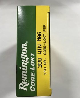 Remington 300 win mag 150gr core lokt psp
