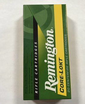Remington 308 win 150gr core lokt psp