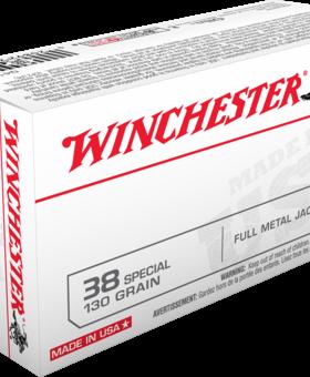 Winchester 38 SPL 130 GR FMJ 50 CT. Q4171