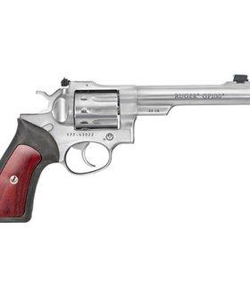 "Ruger 22 l.r. GP100 DA 5.5"" 10 shot ss wood"