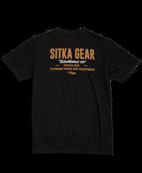Sitka Signage Black Medium