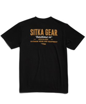 Sitka Signage Black Large