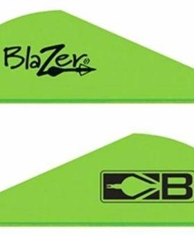 "Bohning Blazer 2"" 100 ct. neon green"