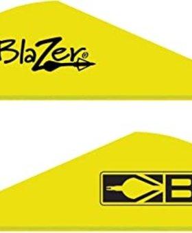 """Bohning Blazers 2"""" 100 ct. Neon Yellow"""