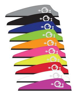 """Q2i Fusion X-11  3"""" Neon Orange 100ct lp"""