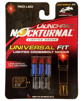 Nocturnal LaunchPad Red X bow 3 pk