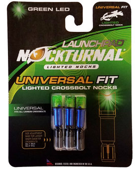 Nocturnal LaunchPad Green X Bow 3 pk