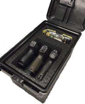 MTM Tactical Pistol HG Case holds 3