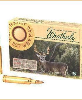 Weatherby 257 Wea 100 gr Horn