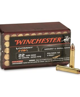 Winchester 22 Mag 30gr OPE S