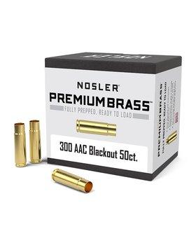 Nosler 300 AAC Blackout brass