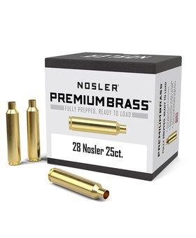 Nosler 28 Nosler Brass 25 ct.