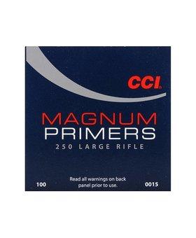 CCI 0015 250 MAG LARGE RIFLE PRIMER 100CT
