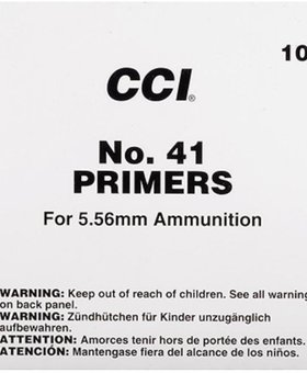 CCI #41 Primers 100 ct.