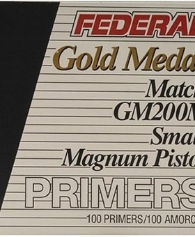 Federal small Pistol mag Gold Medal