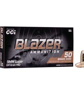 CCI 9mm Luger 124 gr FMJ
